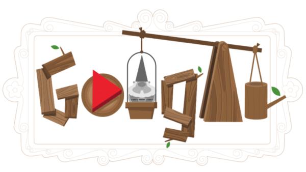 Google docenia krasnale ogrodowe w dzisiejszych doodle'ach