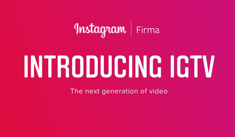 IGTV Instagram dla firm