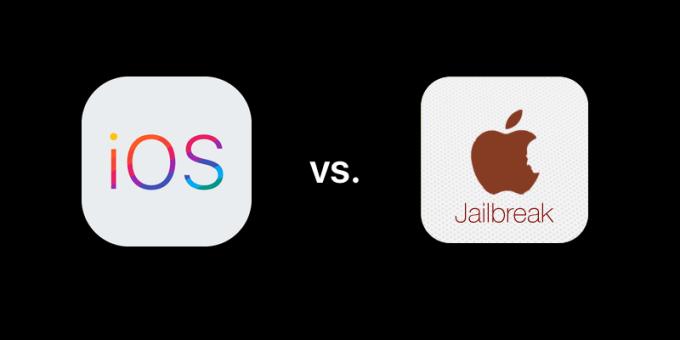 iOS vs. jailbreak