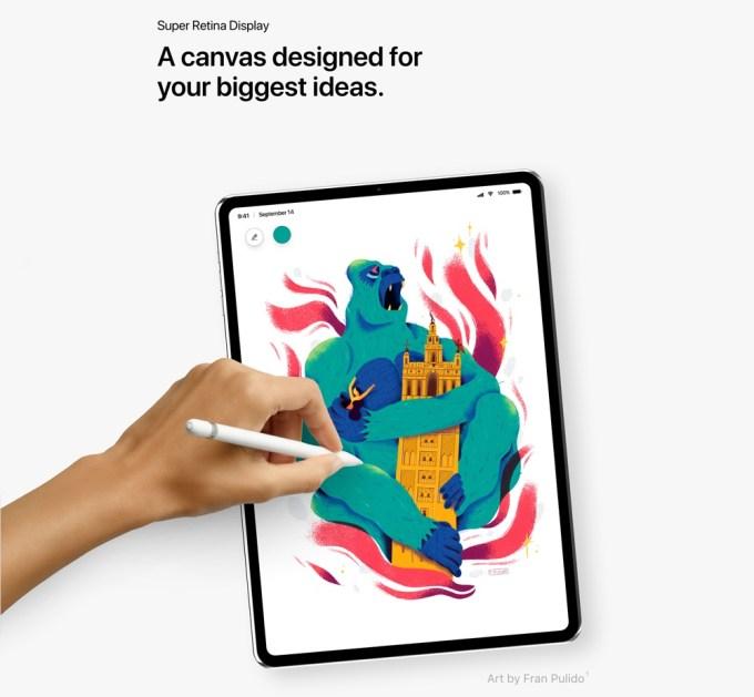 Koncepcja iPada Pro (fot. Álvaro Pabesio)