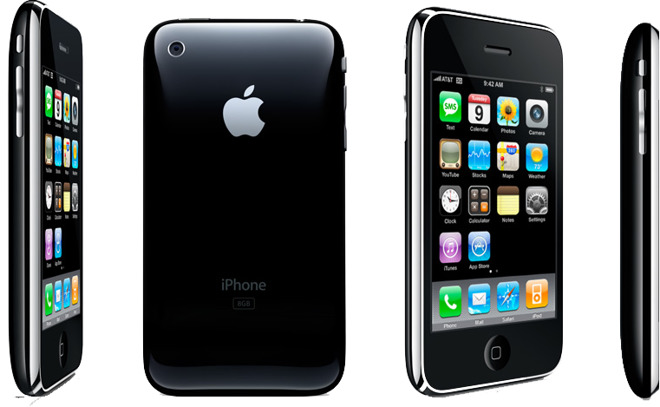 iPhone 3G (Apple, 2008)