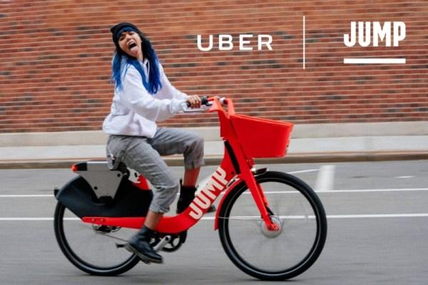 Uber wprowadza wypożyczalnie rowerów Jump także w Europie