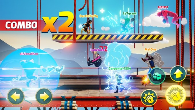 Screen z gry Mayhem Combat