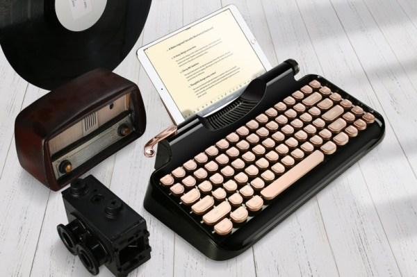 Mechaniczna klawiatura Rymek, to świetny gadżet do urządzeń mobilnych