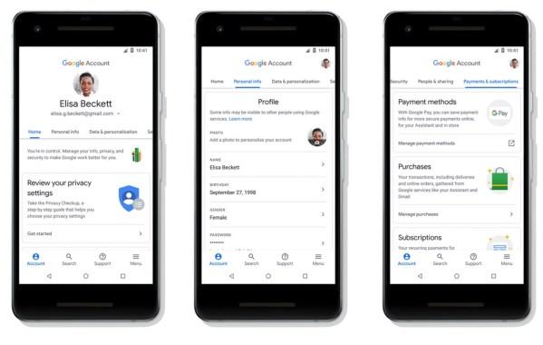 Konto Google jeszcze bardziej przejrzyste i konfigurowalne