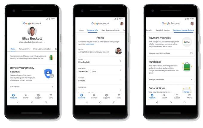 Nowe Konto Google (Android)