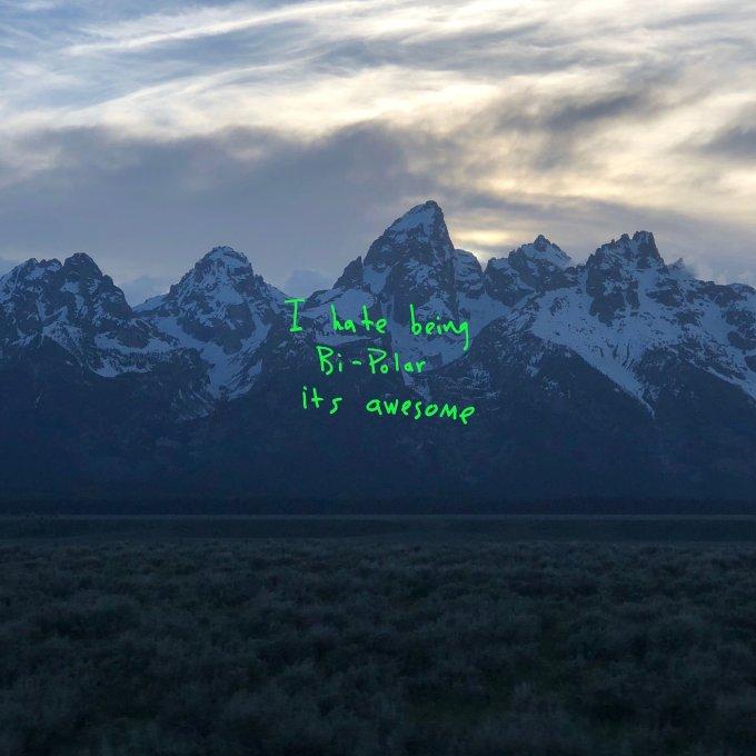 """Okłądka albumu """"ye"""" Kenye West"""