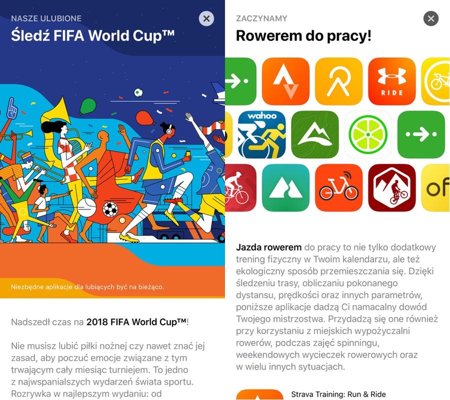 Polskie teksty w sklepie App Store