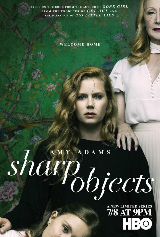 Plakat serialu Ostre przedmioty (Shapr objects)