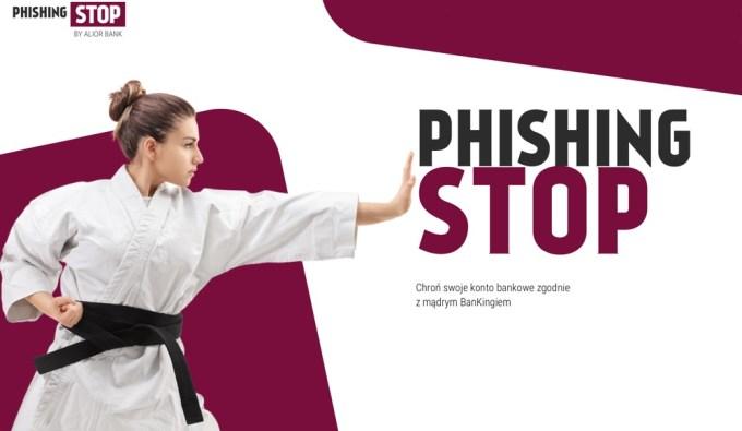 PhishingSTOP Alior Bank - akcja edukacyjna o bezpieczeństwie w internecie
