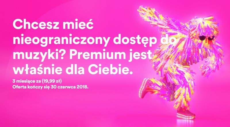 Spotify Premium - promocja: 3 miesiące w cenie 19,99 zł