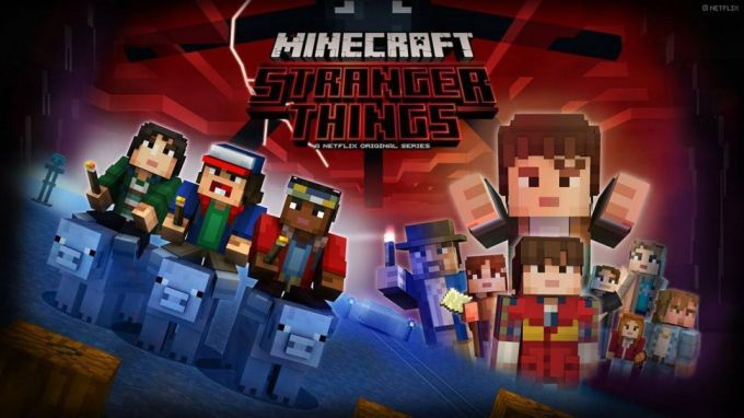 Minecraft: Stanger Things (Netflix, Telltale)