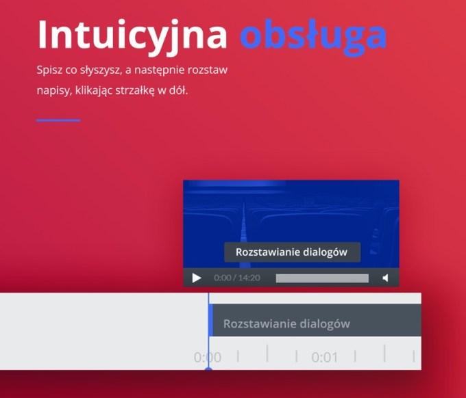 Intuicyjna obsługa aplikacji Subtiled do tworzenia napisów do filmów