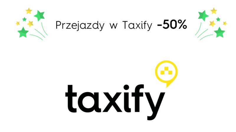 -50% na przejazdy Taxify w Warszawie