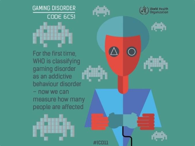 Uzależnienie od gier na liście chorób psychicznych WHO (ICD-11)