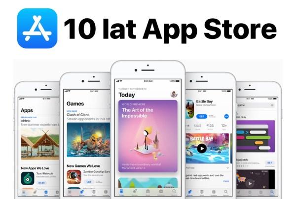 10 lat sklepu App Store – najważniejsze momenty!