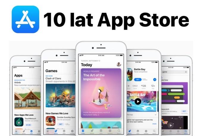 10 lat sklepu App Store (10 lipca 2008 - 10 lipca 2018)