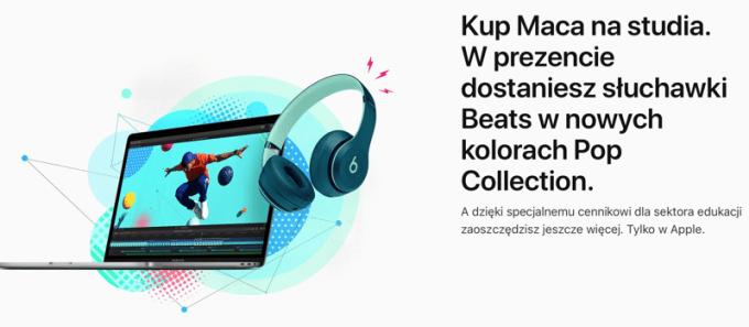 Apple Back to School 2018 ze słuchawkami Beats w prezencie