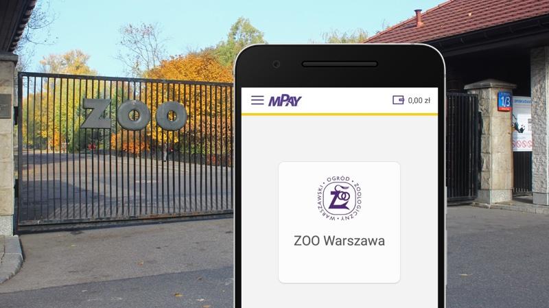 Bilety do warszawskiego ZOO w aplikacji mobilnej mPay