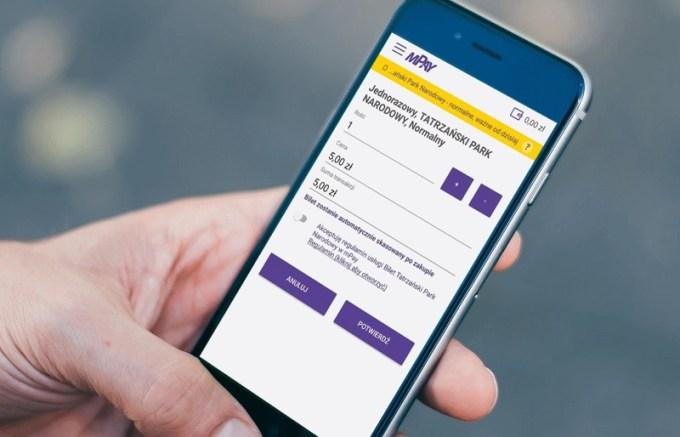 Zakup biletu do Tatrzańskiego Parku Narodowego przez aplikację mobilną mPay