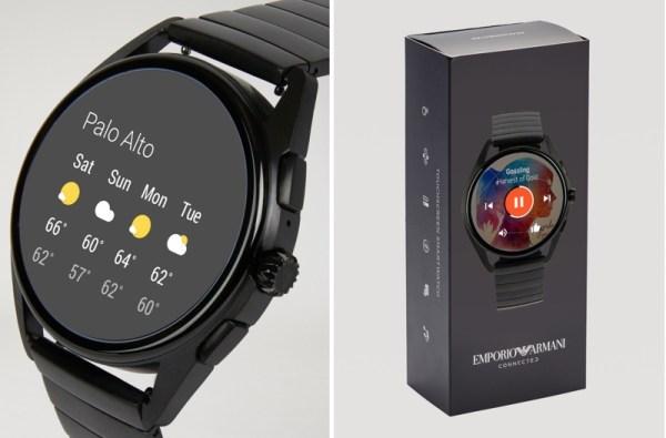 Nowe smartwatche Emporio Armani z Wear OS od 295$