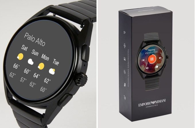 Smartwatch Emporio Armani Connected (Wear OS) 2018