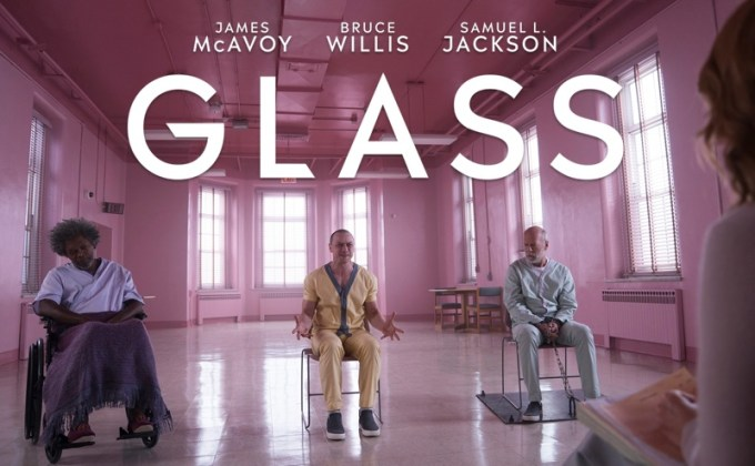 "Film ""Glass"" (""Szkło"") M. Night Shyamalana"