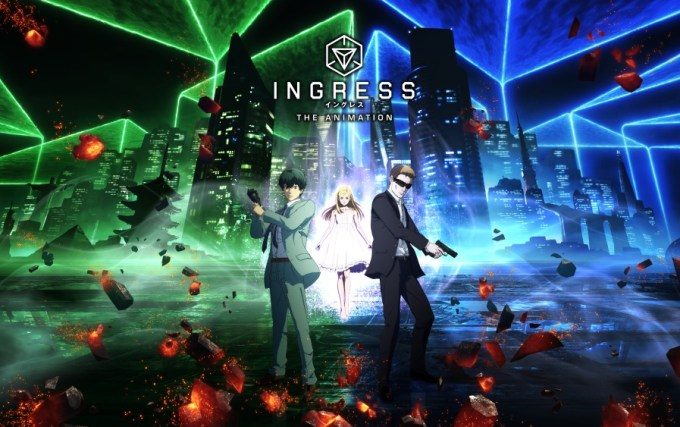 "Serial ""Ingress: The Animation"" (Netflix 2018)"