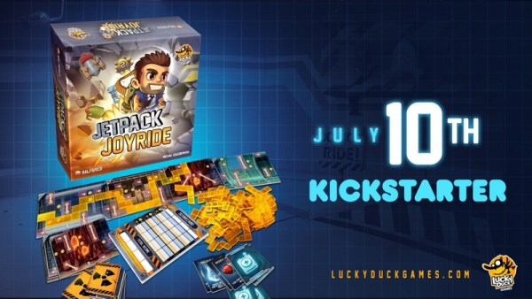"""Planszowa wersja gry mobilnej """"Jetpack Joyride"""" od 10 lipca!"""
