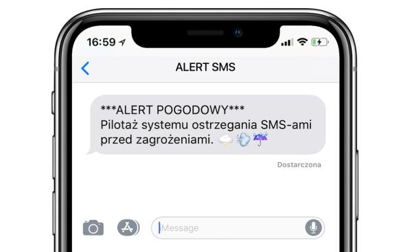 Operatorzy będą wysyłać alerty SMS o zagrożeniach