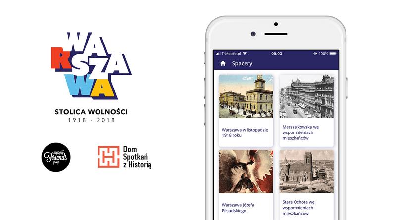 """Aplikacja mobilna """"Wasza Warszawa"""""""