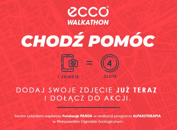 Ecco Walkathon - Chodź Pomóc