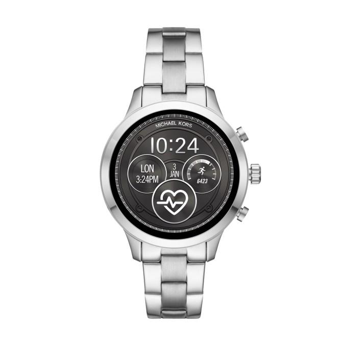 Smartwatch Michael Kors z metalową bransoletą