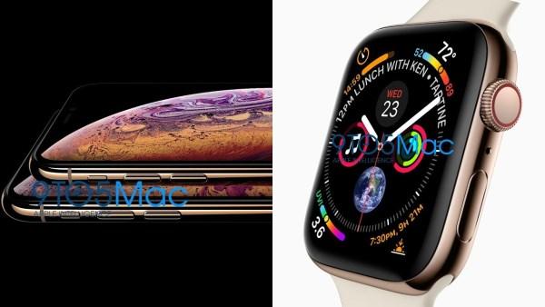 Wyciekły zdjęcia iPhone'a Xs oraz Apple Watcha Series 4