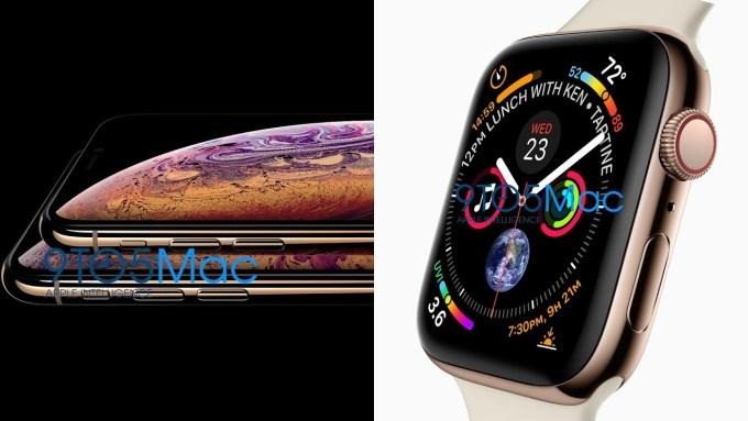 iPhone Xs oraz Apple Watch Series 4 (nie makiety!)