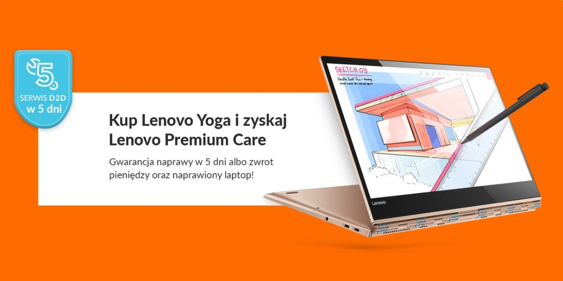 Lenovo Premium Care laptopy Yoga