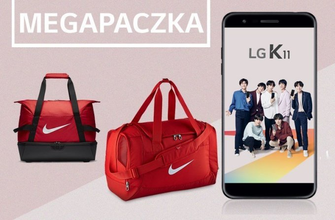 Torby ze smartfonem LG K11