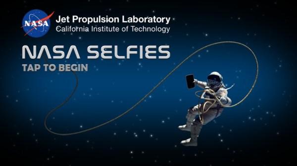 Aplikacje NASA Selfies przeniesie Cię w kosmos dzięki VR i autoportretom