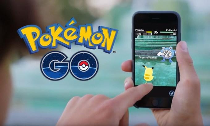 Tryb walk między graczami (PvP) w grze Pokemon GO