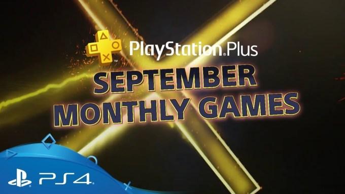 Wrześniowe tytuły gier w Playstation Plus (9/2018)