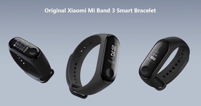 Xiaomi Mi Band 3 International version