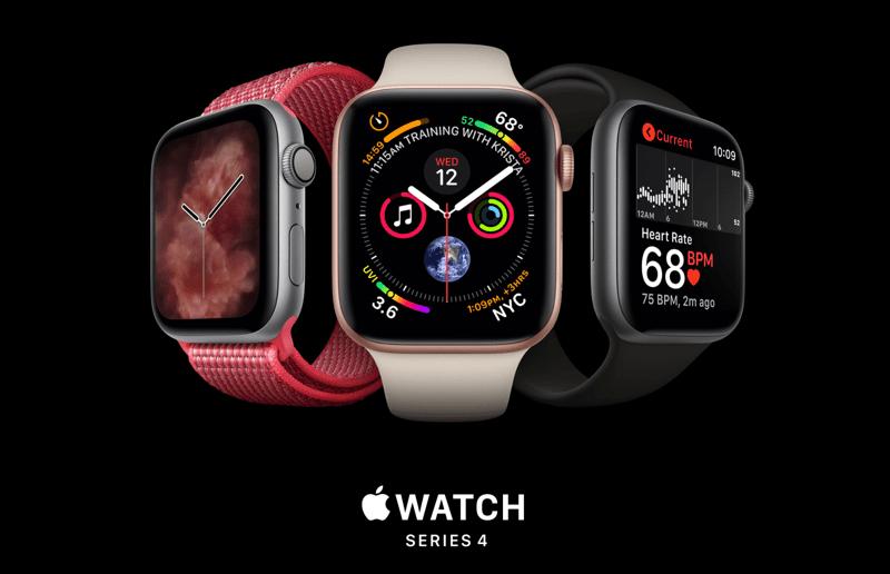 Apple Watch Series 4 - oficjalne zdjęcie