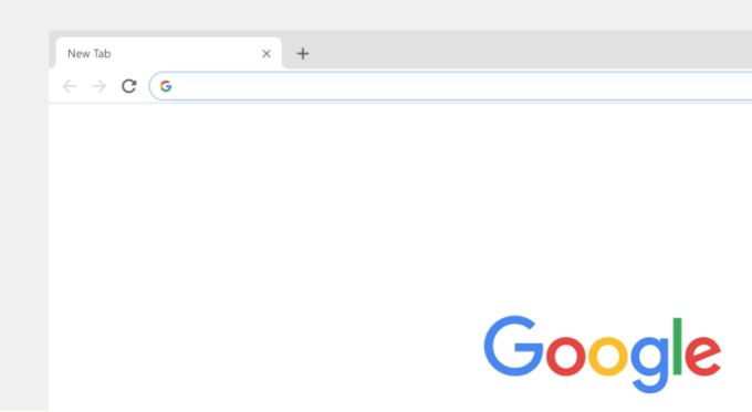 Chrome wersja na komputery (okno - nowy wygląd)