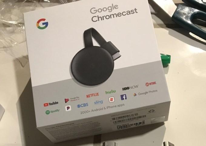 Chromecast 3. gen (Best Buy)