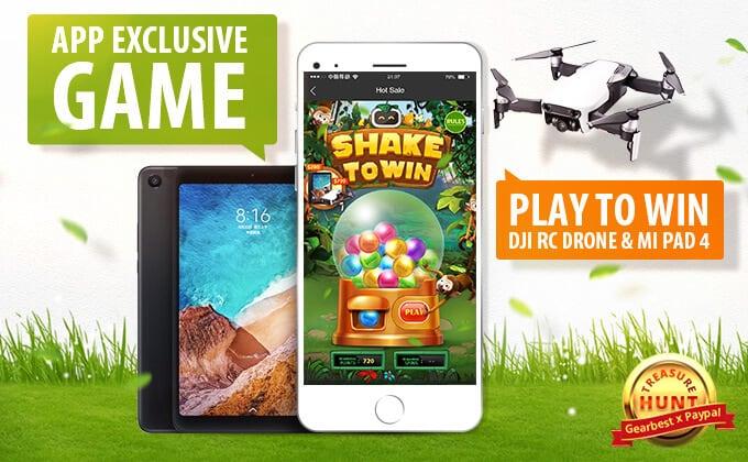 Gra z promocjami w aplikacji mobilnej sklepu