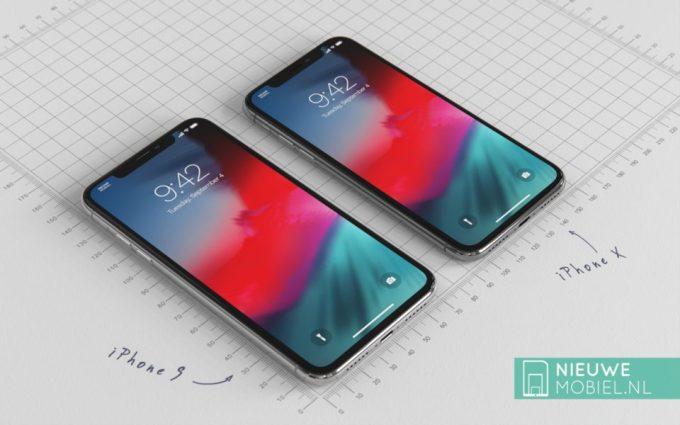 Koncepcja iPhone'a 9 i iPhone'a Xs (przód)