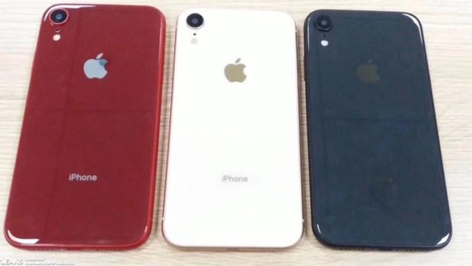 Rzekome zdjęcia prototypów iPhone'a Xc