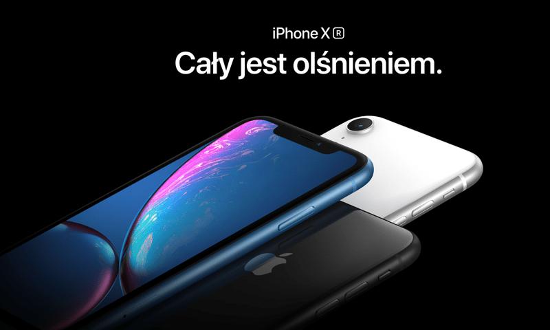 iPhone Xr - oficjalne zdjęcie (Apple)