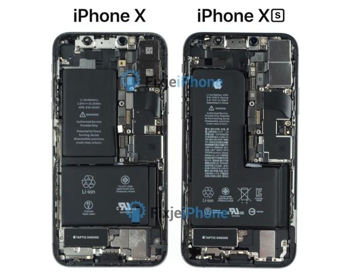 Bateria w iPhonie XS w porównaniu z iPhone'em X