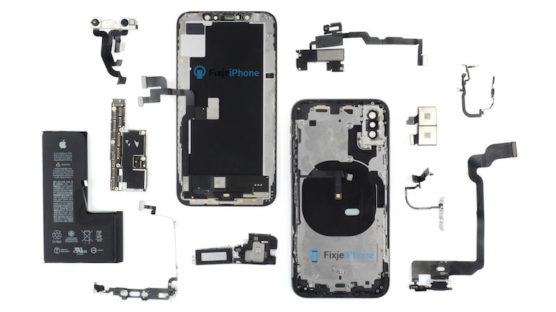 Części iPhone'a XS (fot. FixjeiPhone)